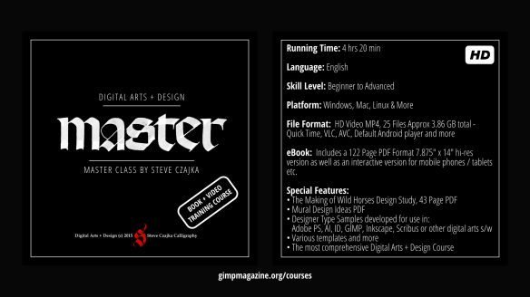 Digital Arts and Design Master Class DVD Cover