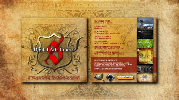 Digital Arts Course - CD Jacket Wallpaper sm