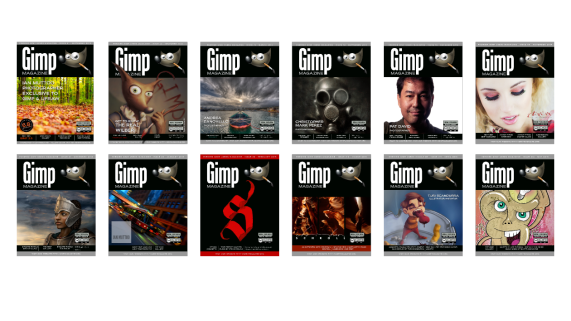 Gimp Magazine Covers