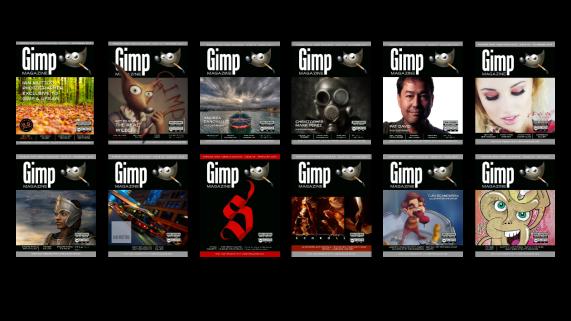Gimp Magazine Covers