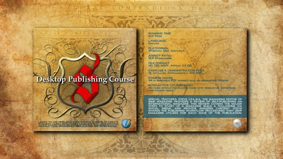 Desktop Publishing Course - CD Jacket Wallpaper