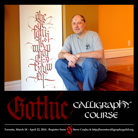 Gothic Calligraphy Course Master