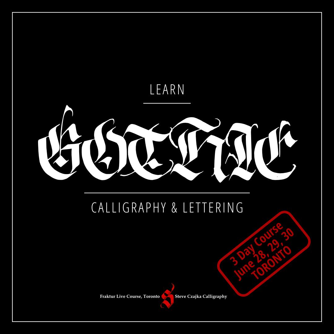 Calligraphic arts guild of toronto the