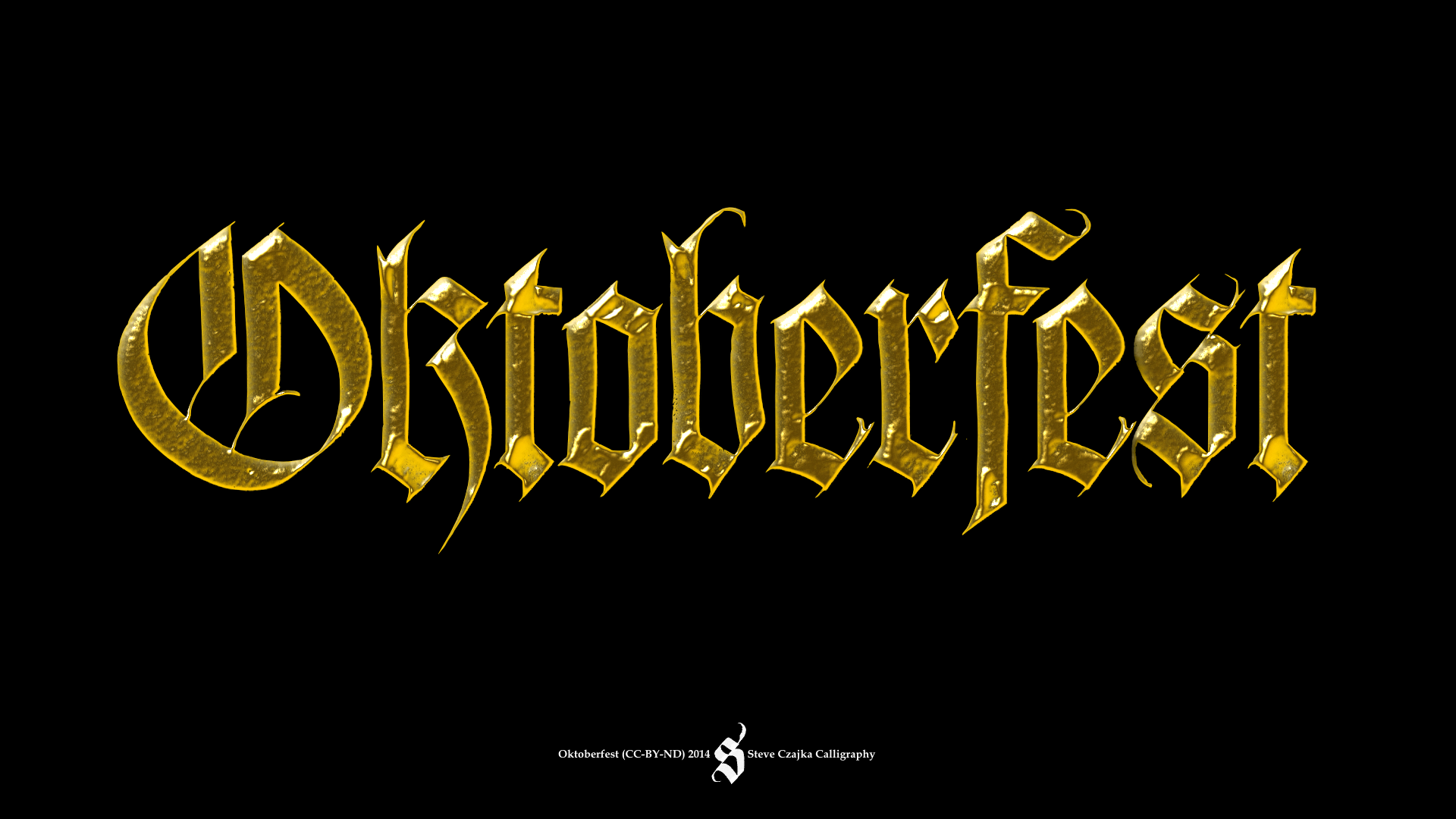 Oktoberfest Calligraphy Tutorial Toronto Calligraphy